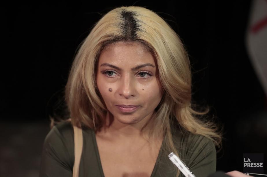 Ensaf Haidar, l'épouse du blogueur saoudien Raïf Badawi... (Photo Martin Chamberland, La Presse)