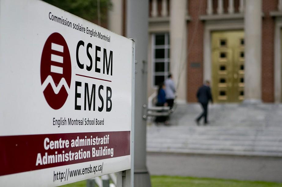 La commission scolaire English-Montréal (CSEM)... (Photo David Boily, La Presse)