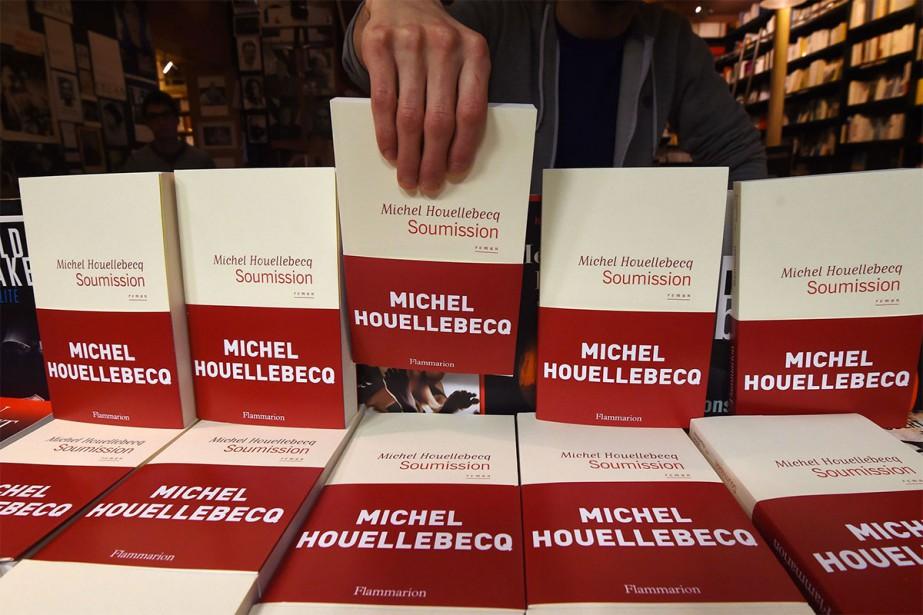 Soumission, de Michel Houellebecq, a été publié il... (Photo Dominique FAGET, Archives Agence France Presse)