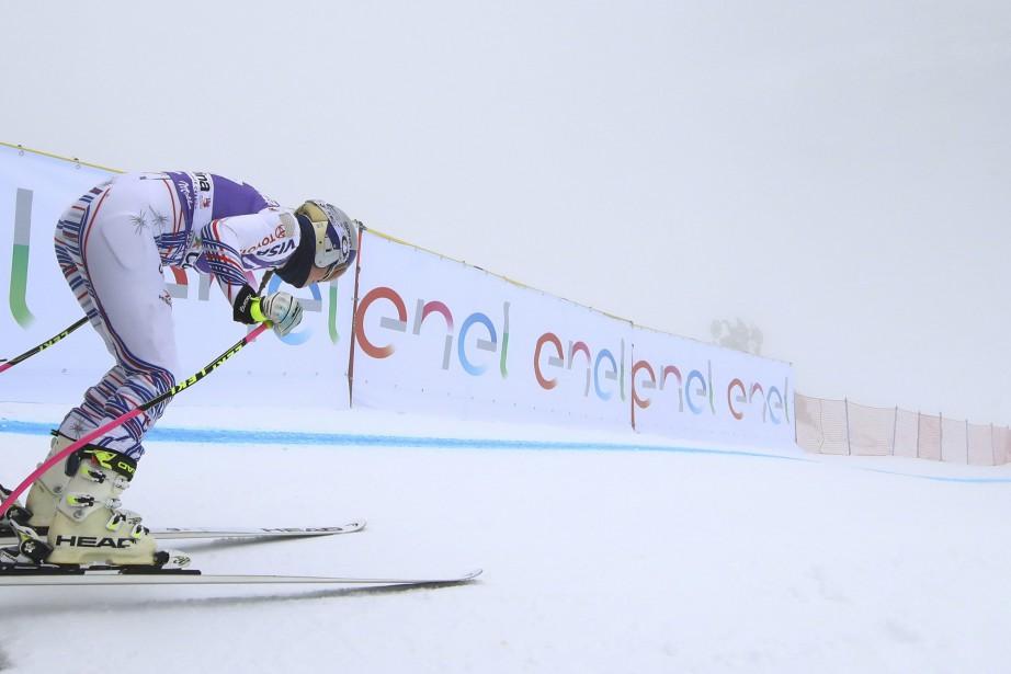 Lindsey Vonn... (Photo Alessandro Trovati, Associated Press)