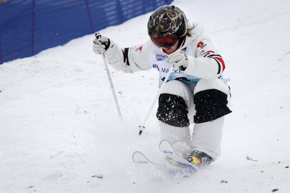 Justine Dufour-Lapointe n'a pu faire mieux qu'une 19e... (Photo Jeff McIntosh, archives La Presse canadienne)