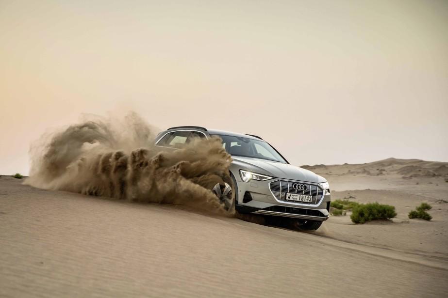 Audi e-tron.   17 janvier 2019