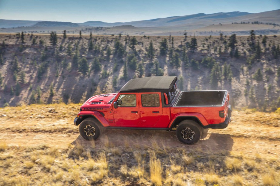 Jeep Gladiator.   17 janvier 2019