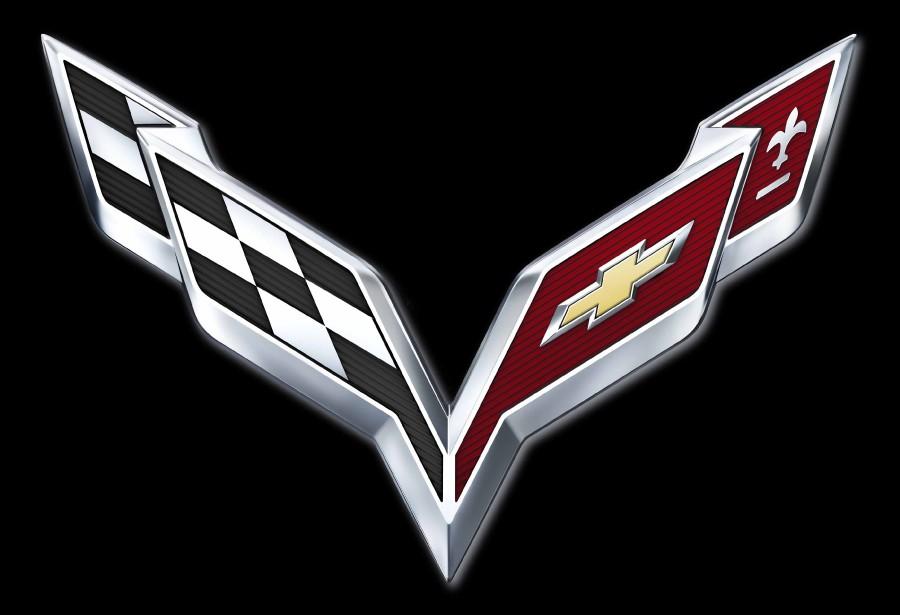 Le logo de Corvette.   17 janvier 2019