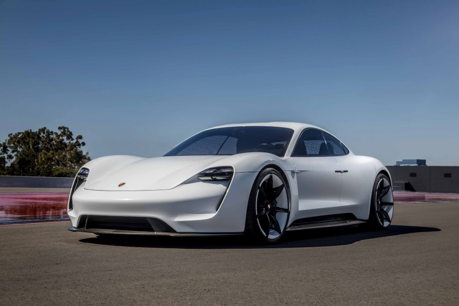 Porsche Taycan.   17 janvier 2019