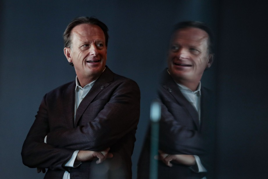 Jean Bédard, président du conseil et chef de... (Photo Martin Chamberland, La Presse)