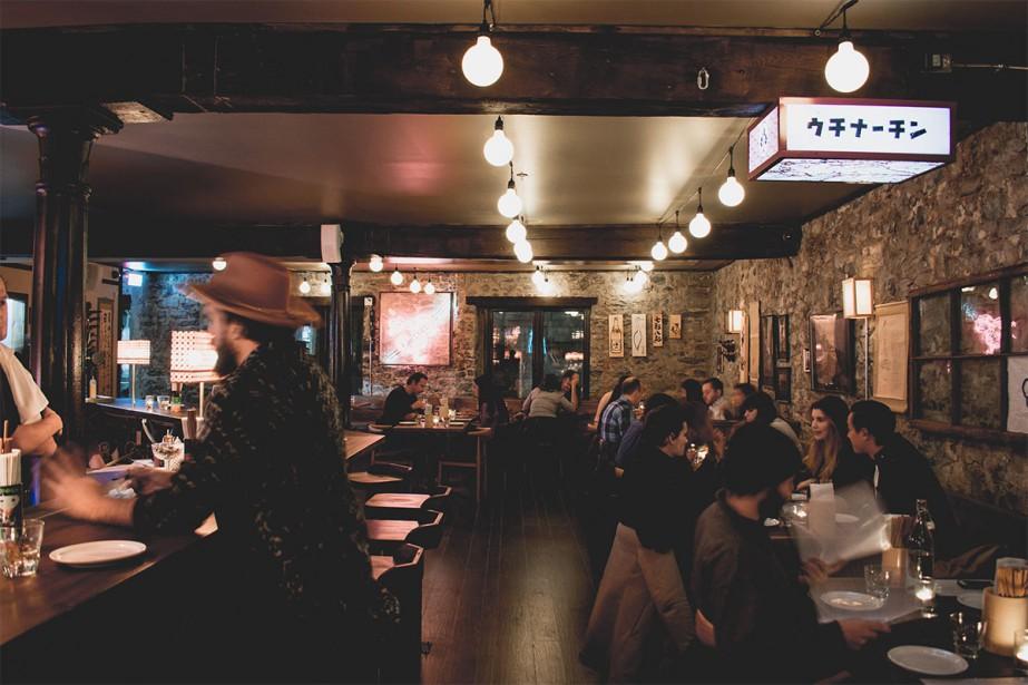 Hanzo est un nouvel izakaya au coeur du... (Photo fournie par Hanzo)