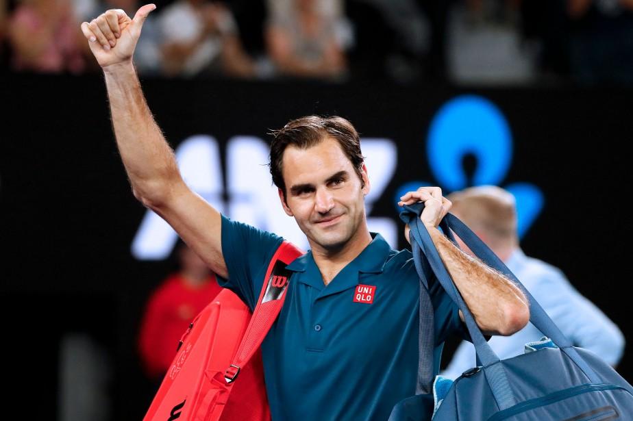 Roger Federer... (Photo DAVID GRAY, AFP)