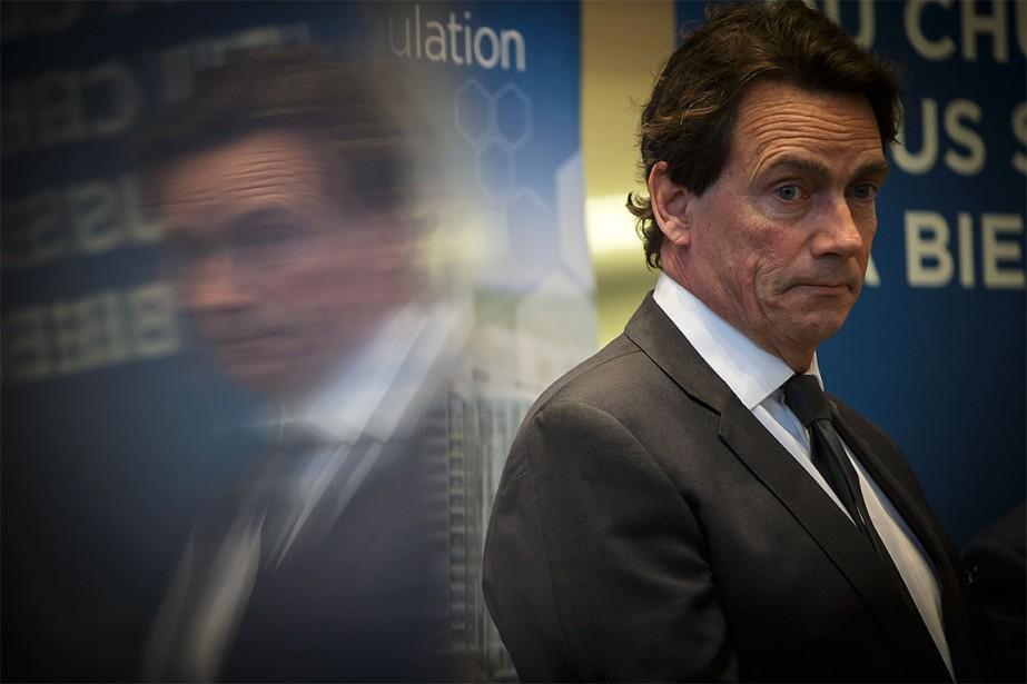 Si Pierre Karl Péladeau est déclaré coupable, son... (Photo Olivier Jean, Archives La Presse)