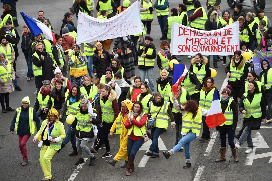 Samedi dernier, plus de 80000personnes avaient manifesté dans... (Photo JEAN-FRANÇOIS MONIER, Agence France-Presse)
