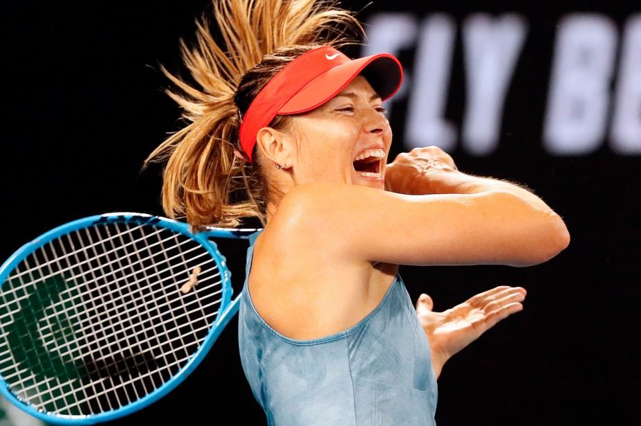 Maria Sharapova... (Photo DAVID GRAY, AFP)