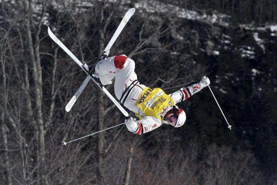 Mikaël Kingsbury... (Photo Hans Pennink, Associated Press)