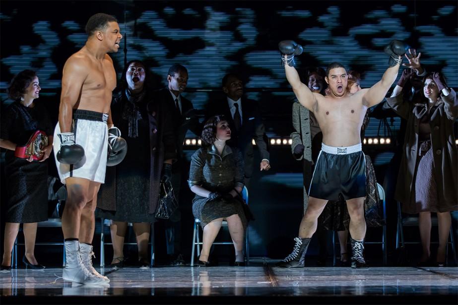 Sur la scène du Washington National Opera, le... (Photo Scott Suchman, fournie par l'Opéra de Montréal)