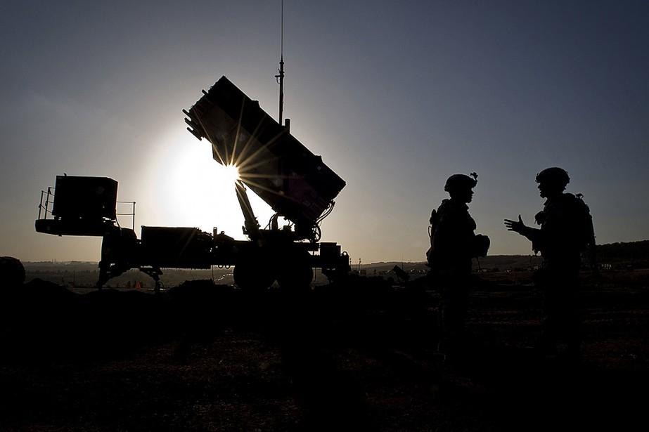 Des soldats américains du 3eBataillon du 2eRégiment d'artillerie... (Photo archives armée américaine via Agence France-Presse)