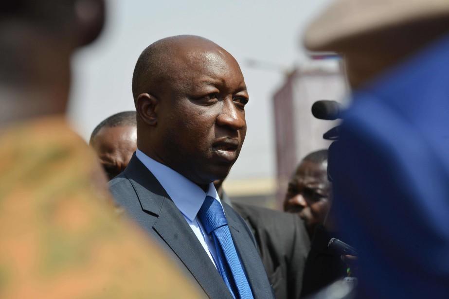 Le premier ministre Paul Kaba Thiéba.... (Photo ISSOUF SANOGO, archives AFP)