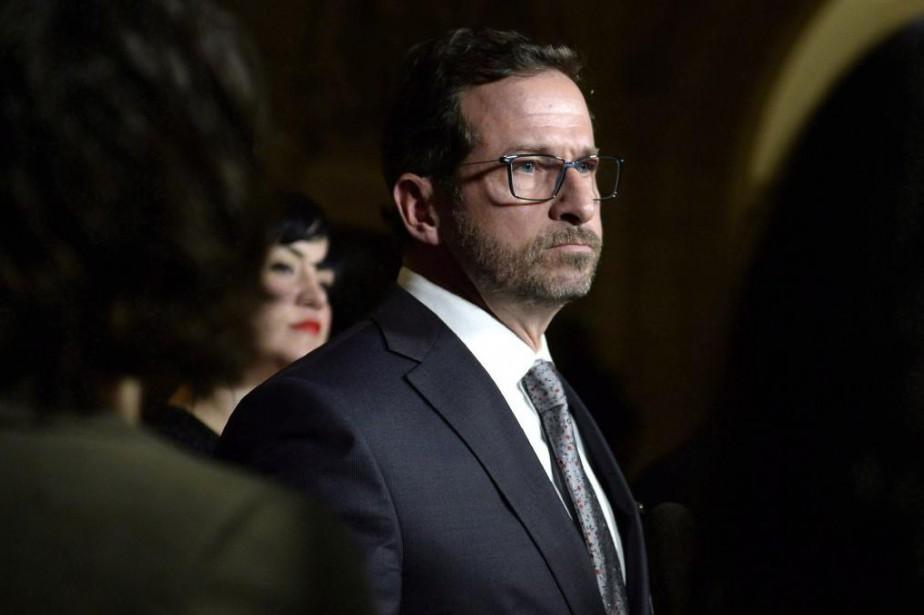 Le nouveau chef du Bloc québécois, Yves-François Blanchet... (Photo Justin Tang, archives La Presse canadienne)