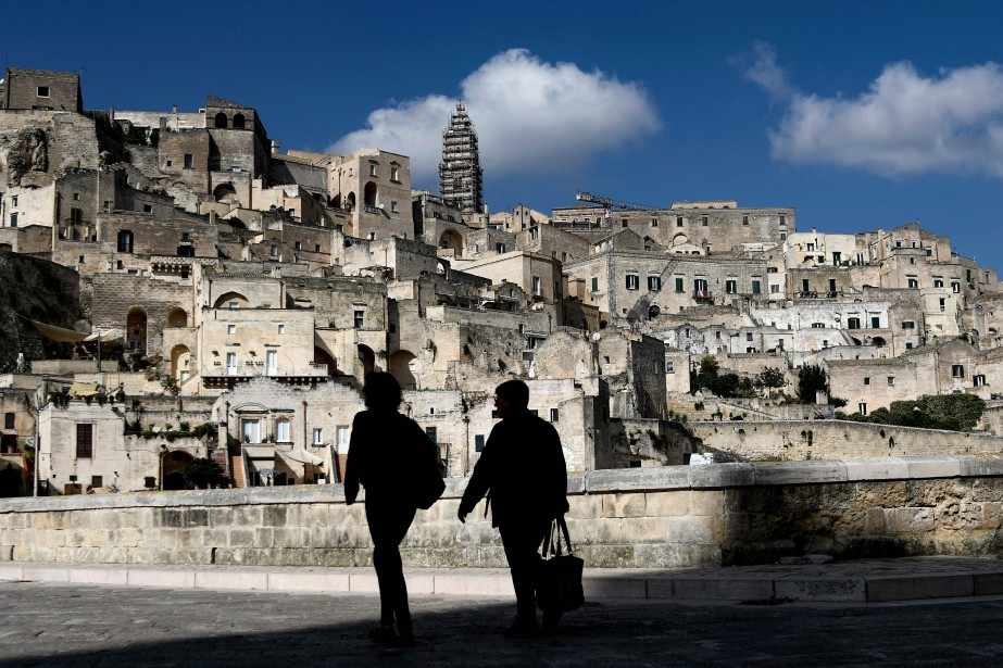 Matera, située dans la région de la Basilicate,... (Photo FILIPPO MONTEFORTE, archives AFP)