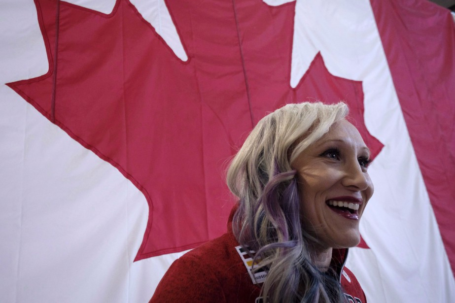 La bobeuse Kaillie Humphries... (Photo Jeff McIntosh, La Presse canadienne)