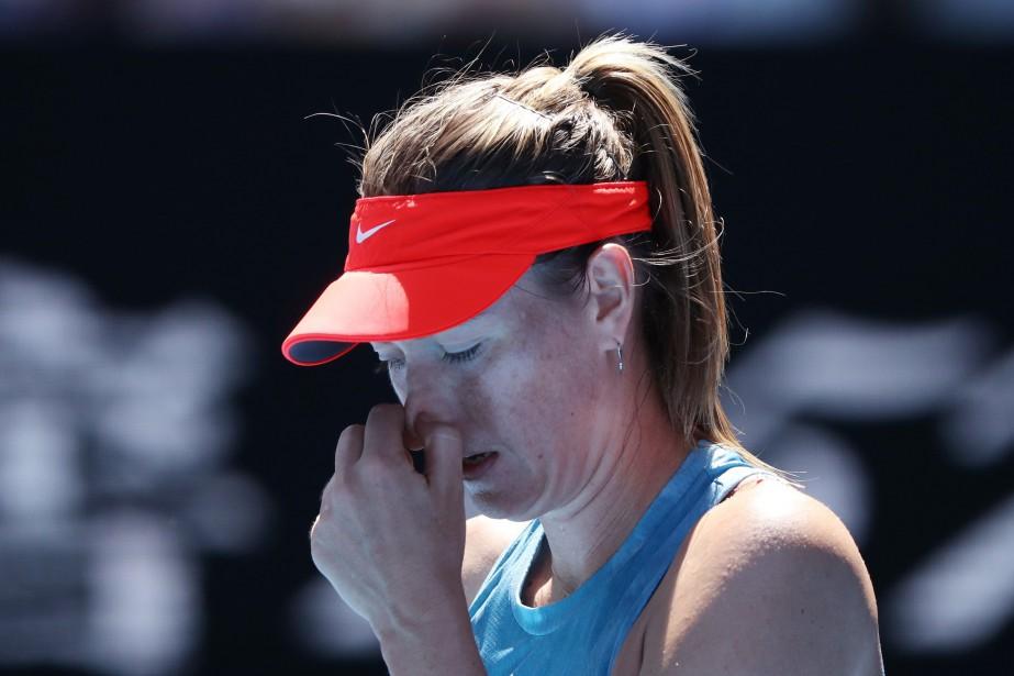 Maria Sharapova, ex-N.1 mondiale aujourd'hui... (Photo LUCY NICHOLSON, REUTERS)