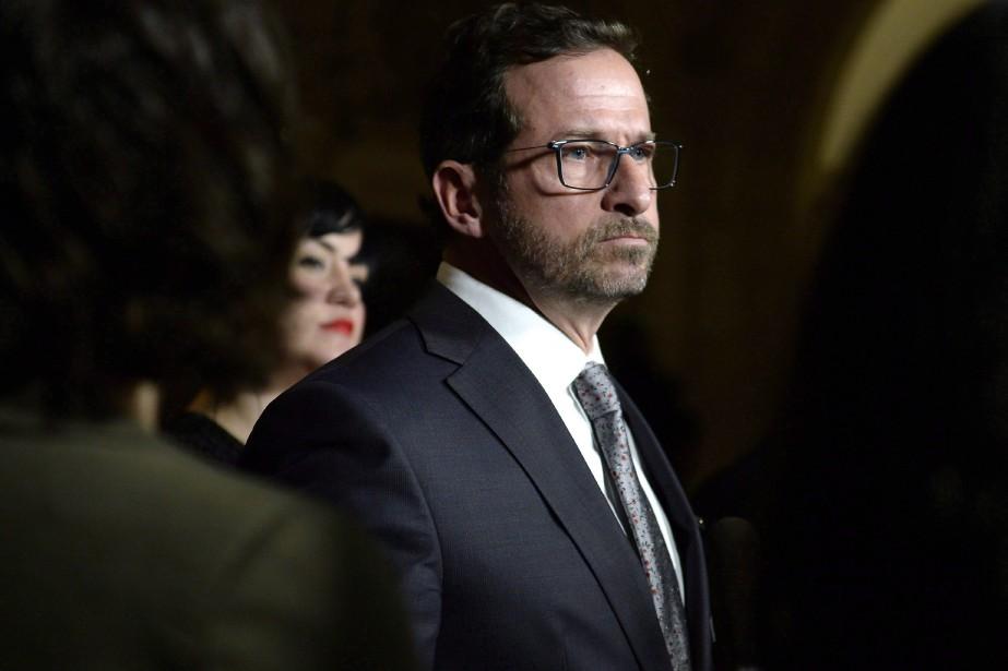 Le nouveau chef du Bloc québécois, Yves-FrançoisBlanchet... (Photo Justin Tang, La Presse canadienne)