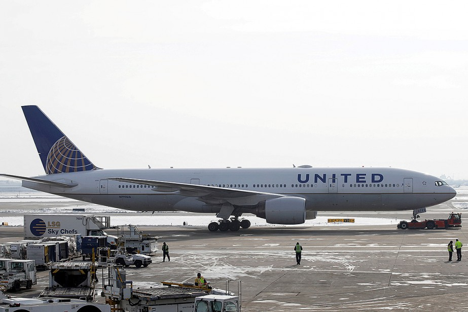 Un Boeing777-200ER de United Airlines... (ARCHIVES REUTERS)