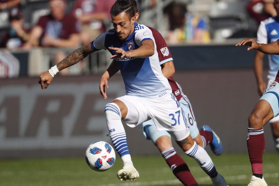 L'ancien attaquant du FC Dallas, Maximiliano Urruti, sera... (Photo DavidZalubowski, archives AP)