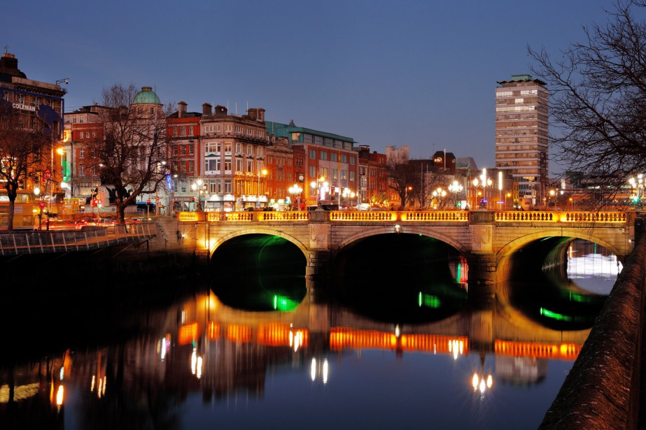 Dublin l'hiver.... (Photo Getty Images)
