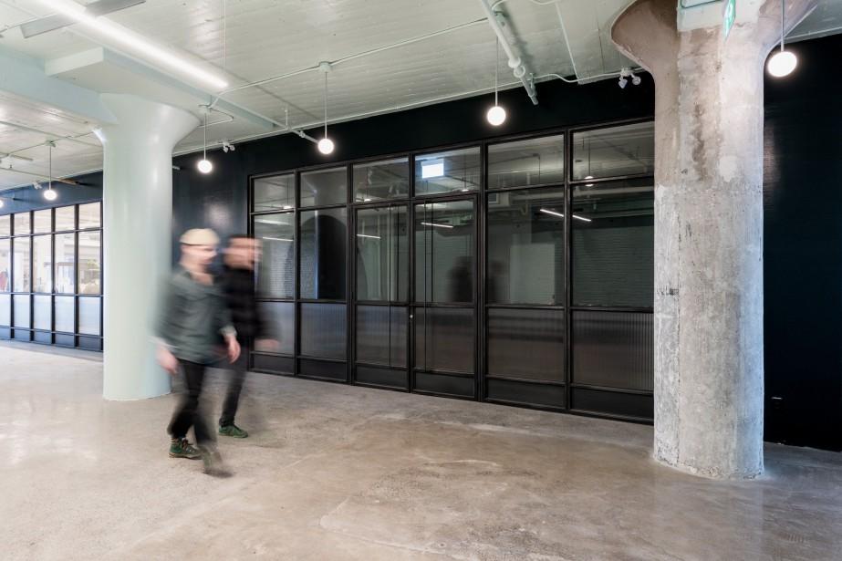 La galerie Corridor ouverte sur le couloir du... (Photo Arseni Khamzin, fournie par Lambert & Fils)
