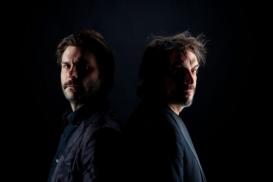 Jeremie Niel et Sylvain Bellemarre.... (Photo Alain Roberge, La Presse)