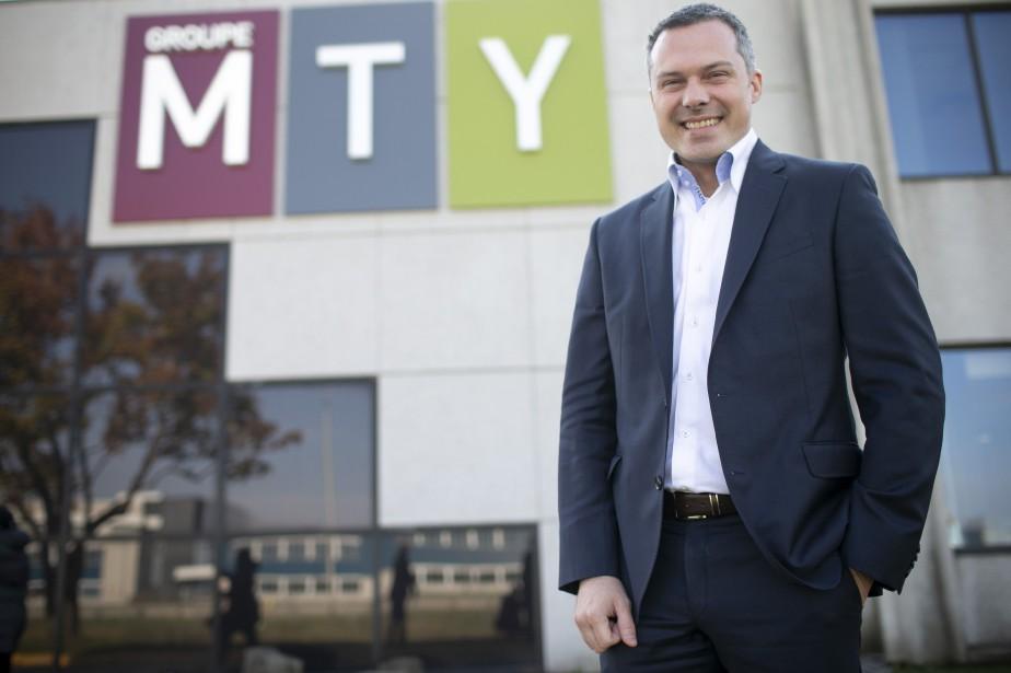 Eric Lefebvre, PDG du Groupe MTY.... (Photo David Boily, archives La Presse)