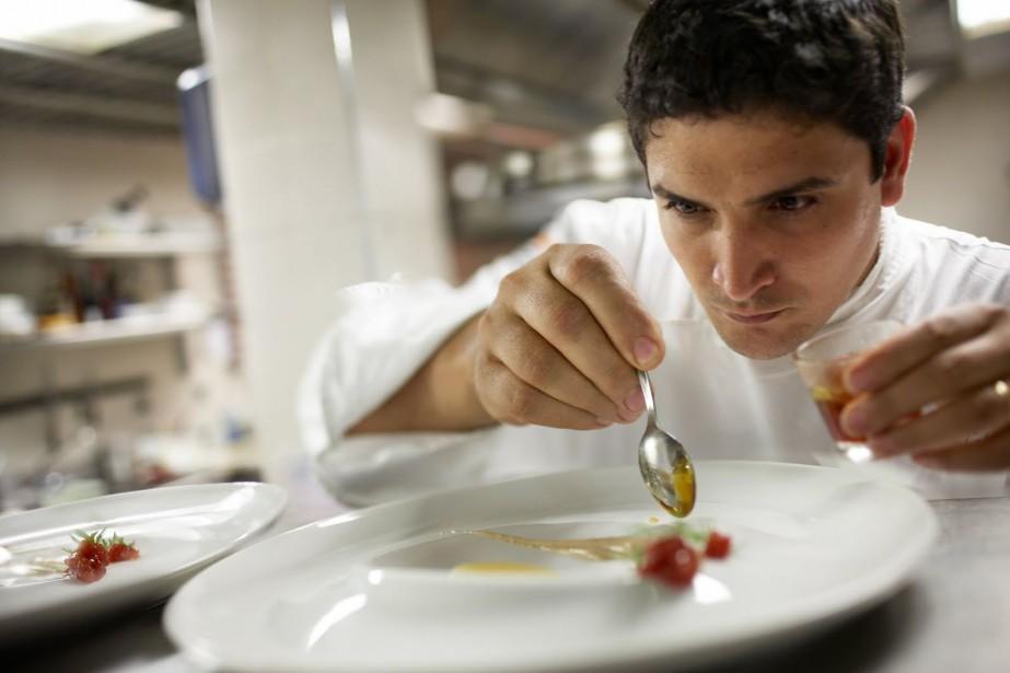 Photo tirée du site web du restaurant Mirazur.... (lLArgentin Mauro Colagreco)