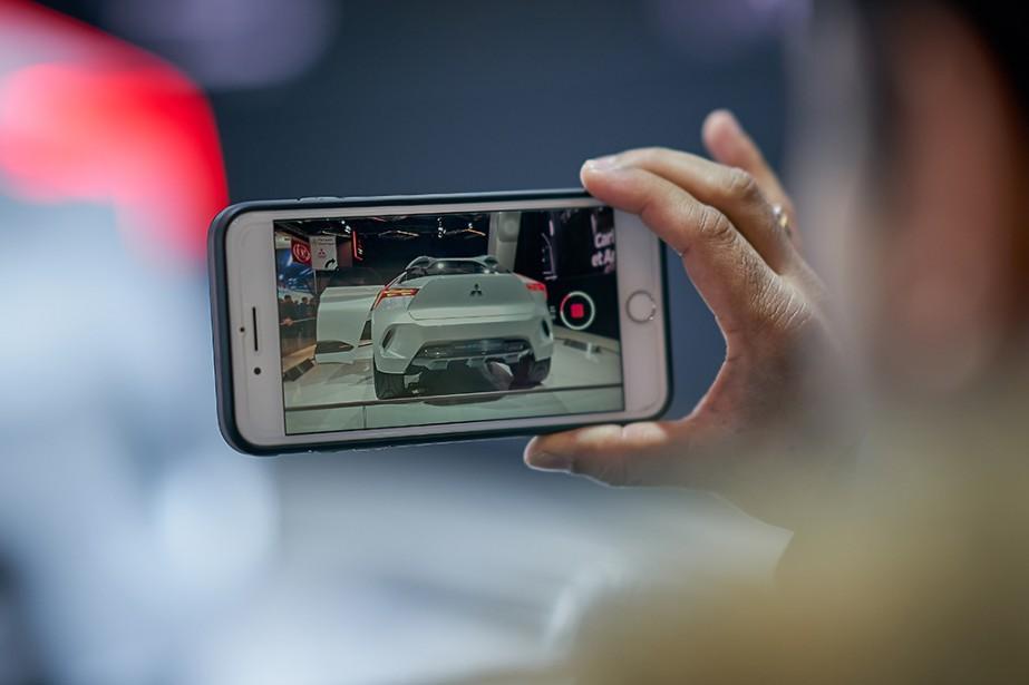 Mitsubishi présente aussi son prototype e-Evolution. | 21 janvier 2019