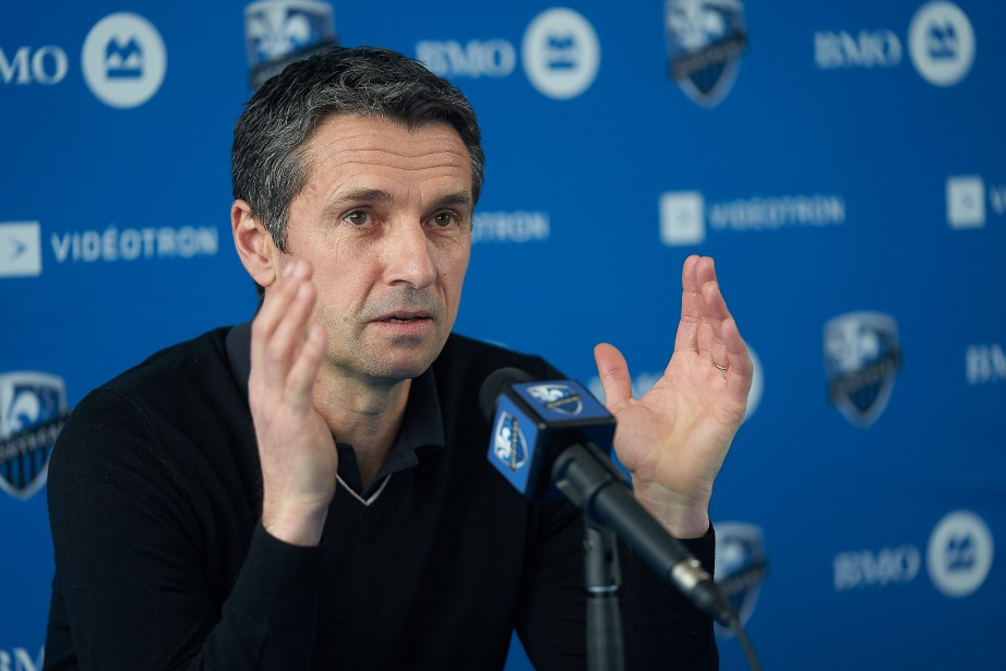 L'entraîneur-chef de l'Impact de Montréal, Rémi Garde.... (Photo André Pichette, archives La Presse)