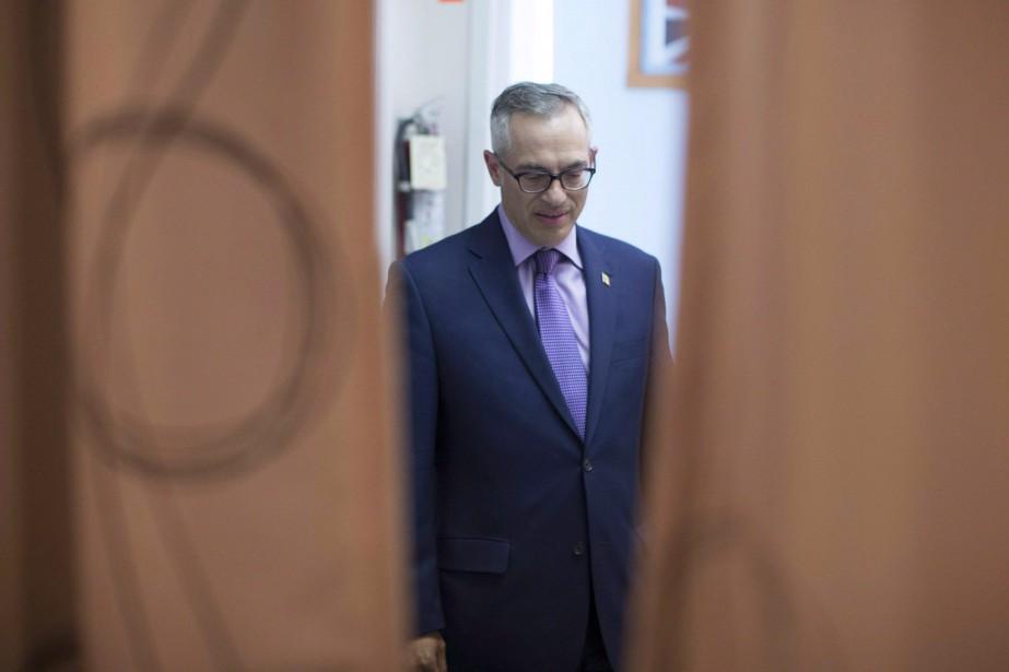 Le député fédéral Tony Clement avait envoyé des... (Photo Chris Young, archives la presse canadienne)