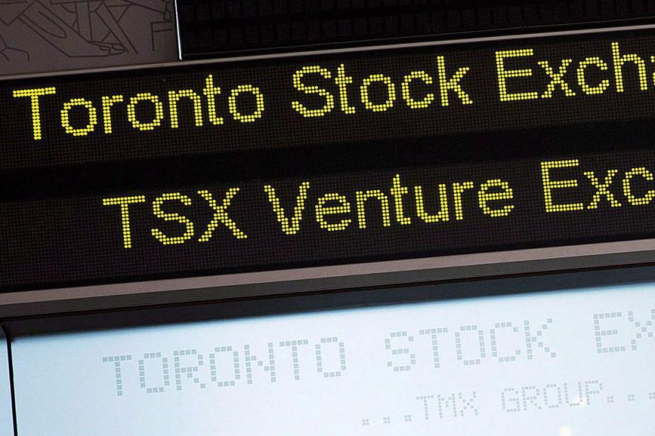 L'indice composé S&P/TSX a avancé de 50,33points pour... (Photo Aaron Vincent Elkaim, archives la presse canadienne)