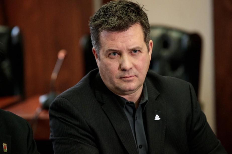Le maire de Montréal-Est, RobertCoutu.... (PHOTO HUGO-SÉBASTIENAUBERT, ARCHIVES LA PRESSE)