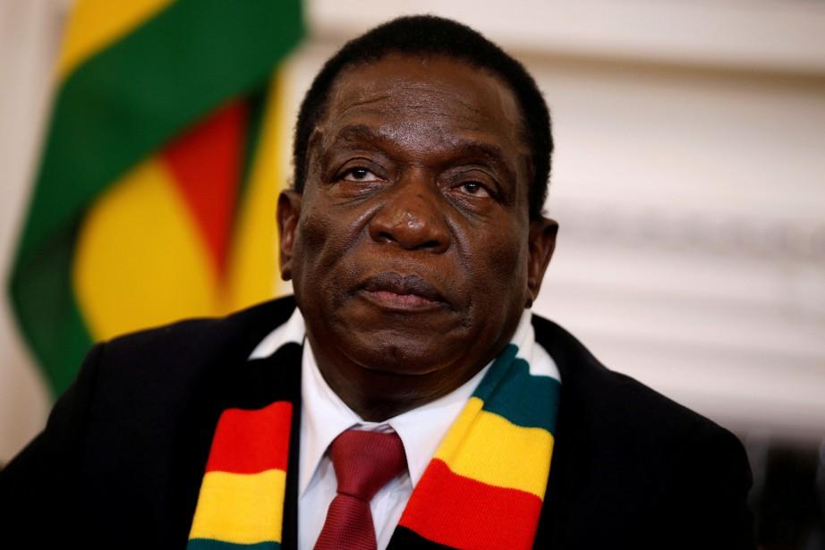 Emmerson Mnangagwa... (PHOTO REUTERS)