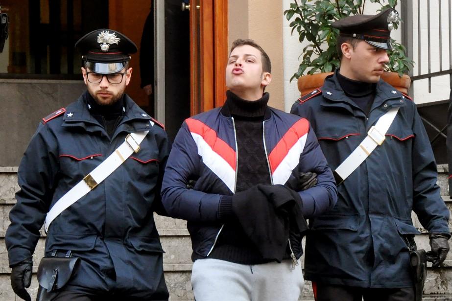 Parmi les personnes arrêtées mardi, deux descendants dechefs... (Photo ALESSANDRO FUCARINI, Agence France-Presse)