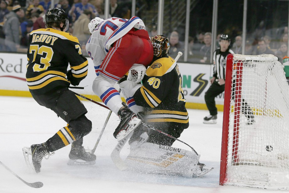 Le gardien des Bruins de Boston Tuukka Rask... (Photo Mary Schwalm, Associated Press)