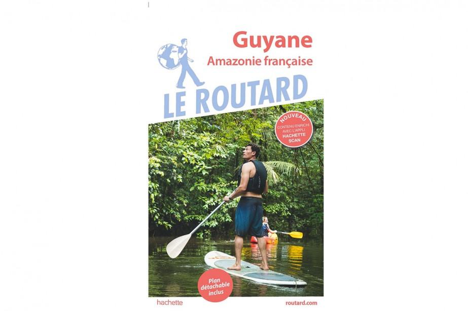 Le premier Guide du Routard sur la Guyane,... (Capture d'écran)