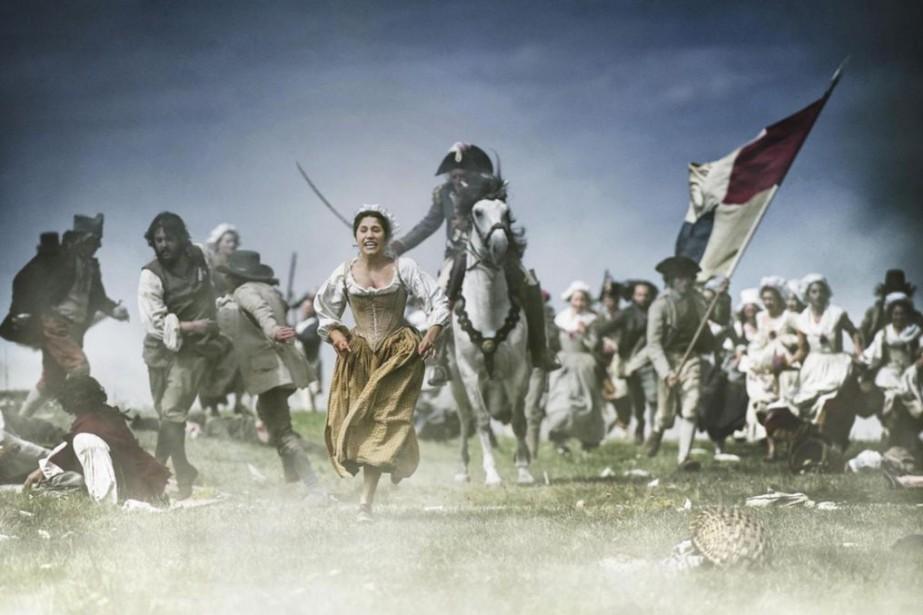 Les premières années de la Révolution française représentent... (Photo fournie parMK2)