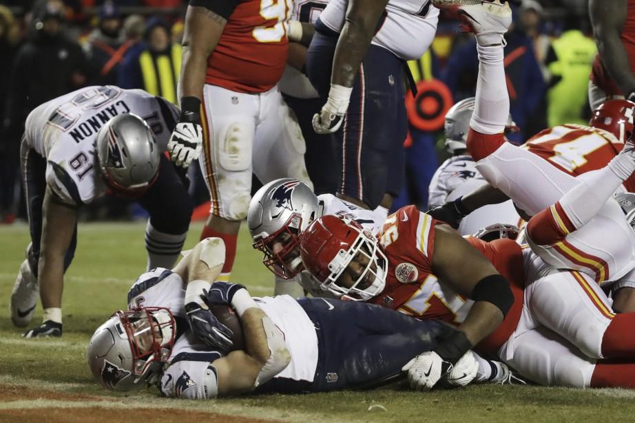 Les Chiefs de Kansas City se sont inclinés... (Photo Elise Amendola, Associated Press)