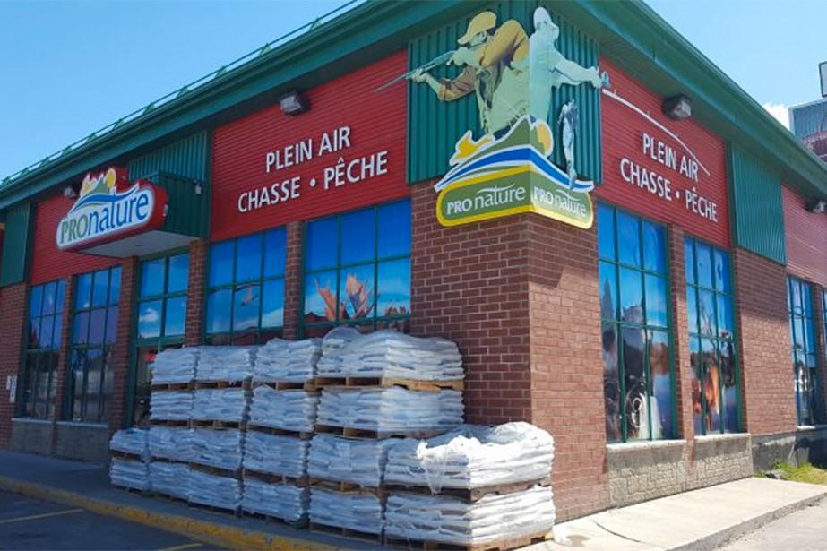 Des armes ont été volées au magasin Pronature... (Photo tirée du site web groupepronature.ca/magasin/pronature-alma/)