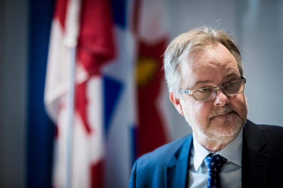 Denis Gallant est devenu en juin dernier le... (Photo Marco Campanozzi, archives La Presse)