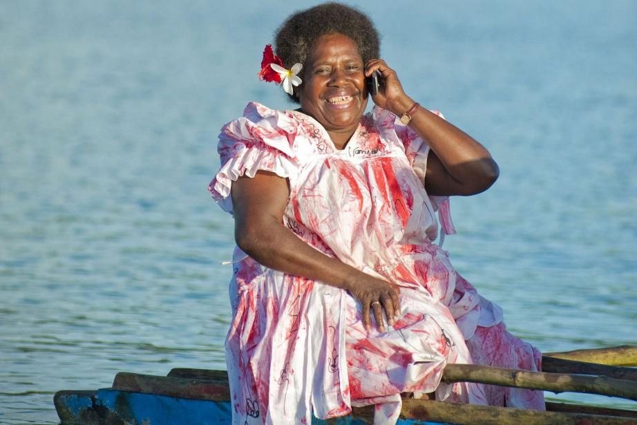 L'archipel des Tonga compte environ 100000 habitants, une... (Photo DIGICEL PACIFIC, AFP)