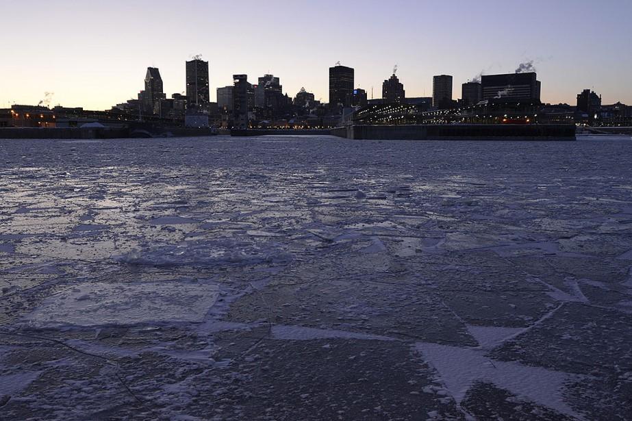 Sur cette photo, le centre-ville de Montréal et... (Photo Bernard Brault, archives La Presse)