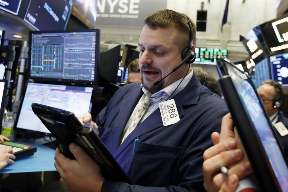 Le NASDAQ, à forte coloration technologique, s'est apprécié... (Photo Richard Drew, AP)