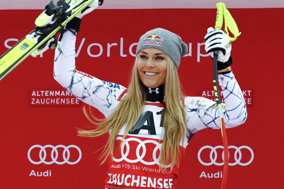 Lindsey Vonn... (Photo archives Reuters)