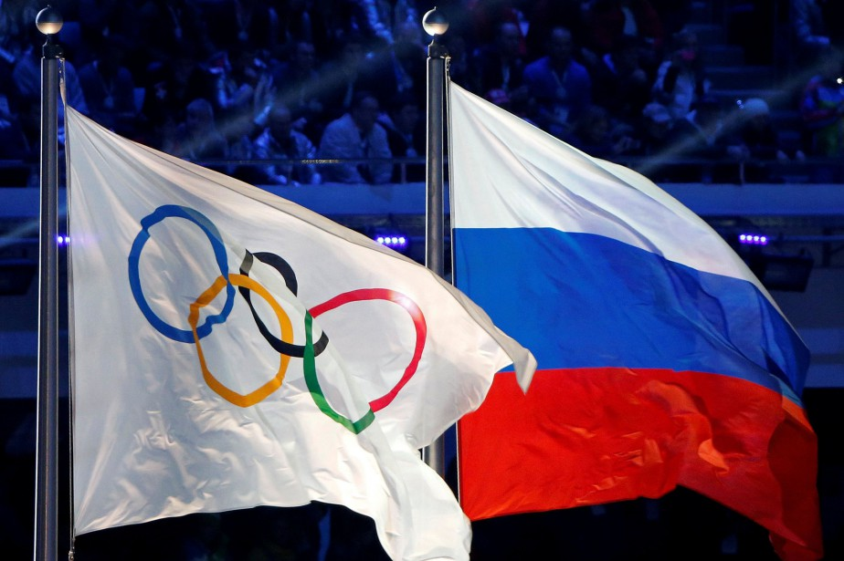Le Comité olympique de Russie et le drapeau... (Photo Jim Young, archives REUTERS)