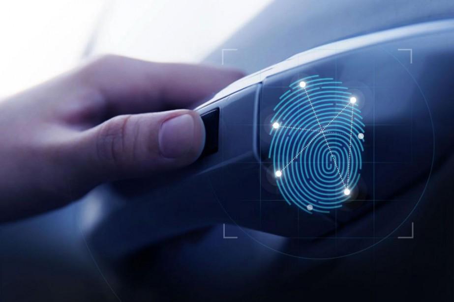 La reconnaissance biométrique sera utilisée pour ouvrir les... (Photo Hyundai)